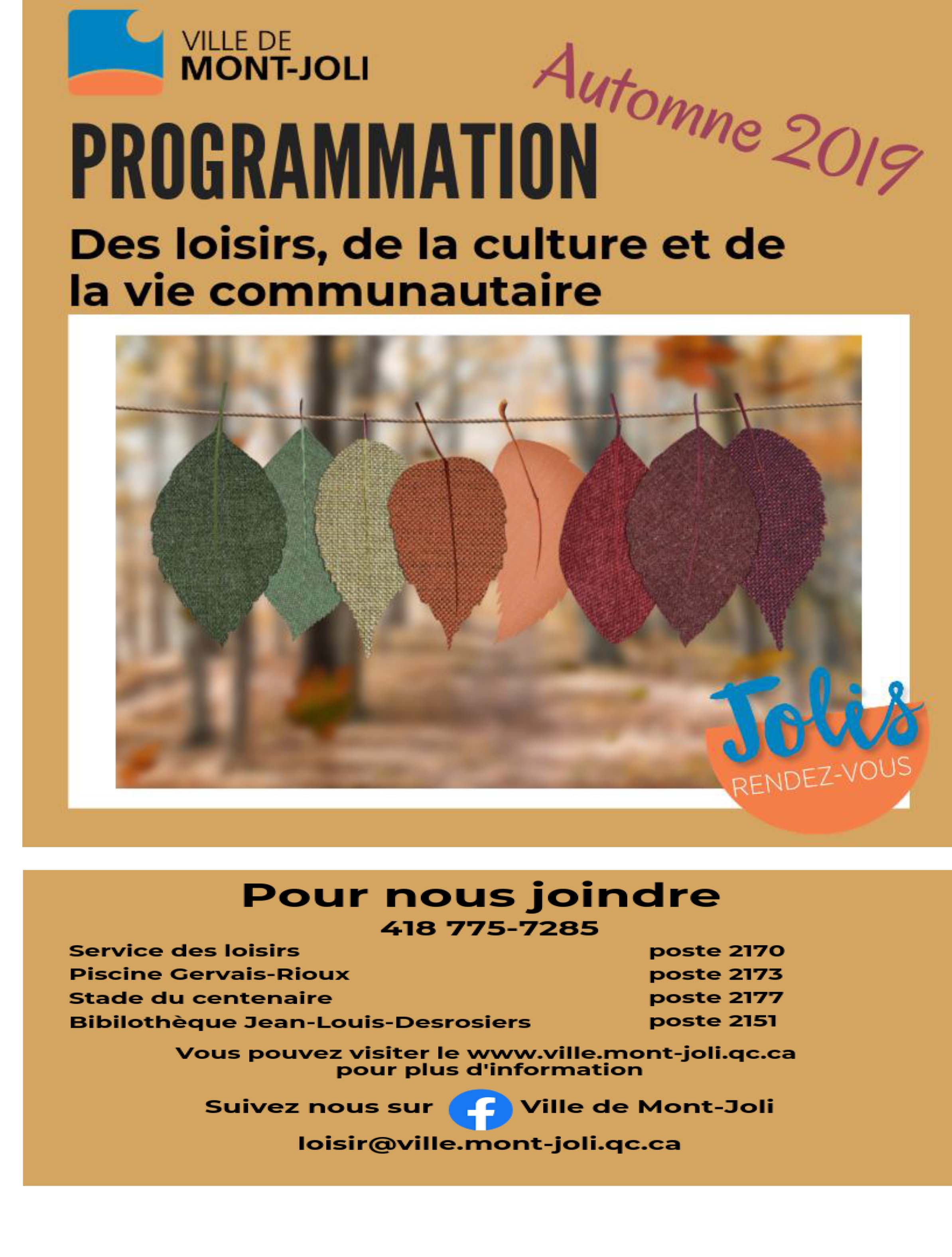 Programmation 2019 2020 page couverture